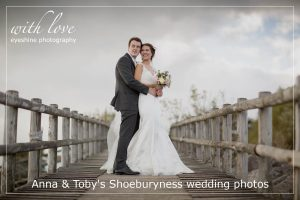 Anna & Toby's Shoeburyness wedding photos