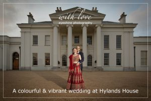 A colourful & vibrant wedding at Hylands House