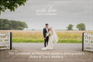The Compasses at Pattiswick wedding photographers. Grace & Tuki's wedding.