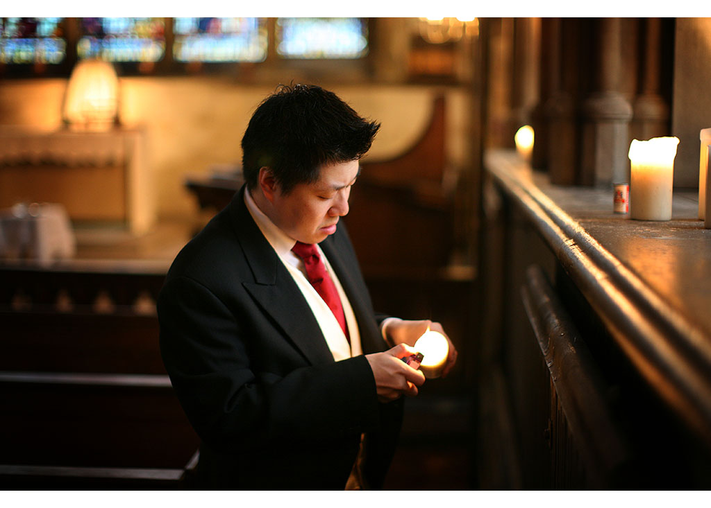London wedding photographer photography church ceremony Eyeshine Photography groomsmen