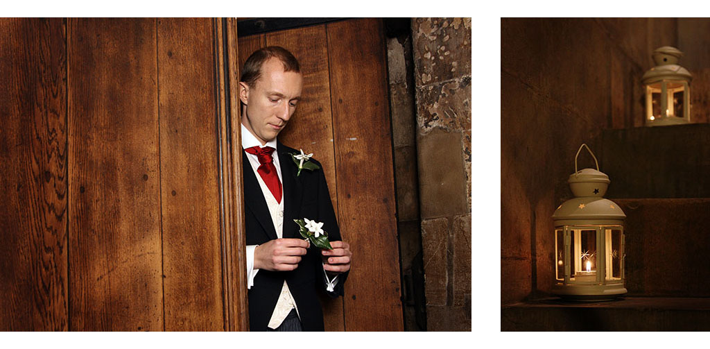 London wedding photographer photography church ceremony Eyeshine Photography groom