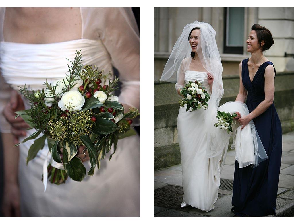 London wedding photographer photography church ceremony Eyeshine Photography bride bridal bridesmaid bouquet flowers documentary