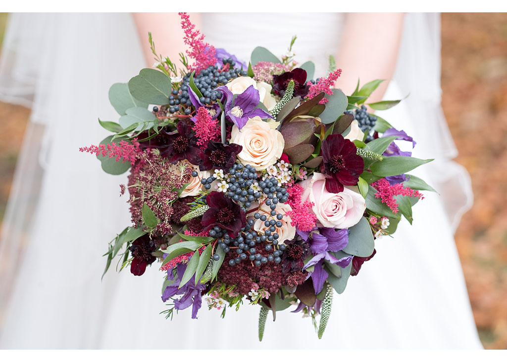 Essex Braintree photography bride wedding just married autumn inspired flowers