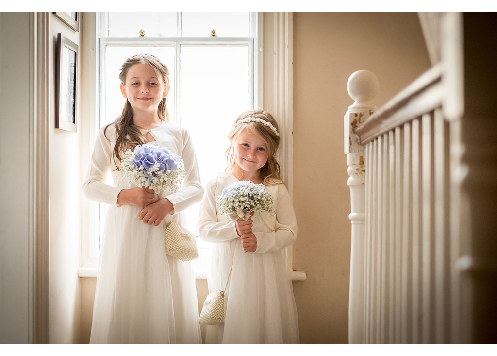flower girl photography