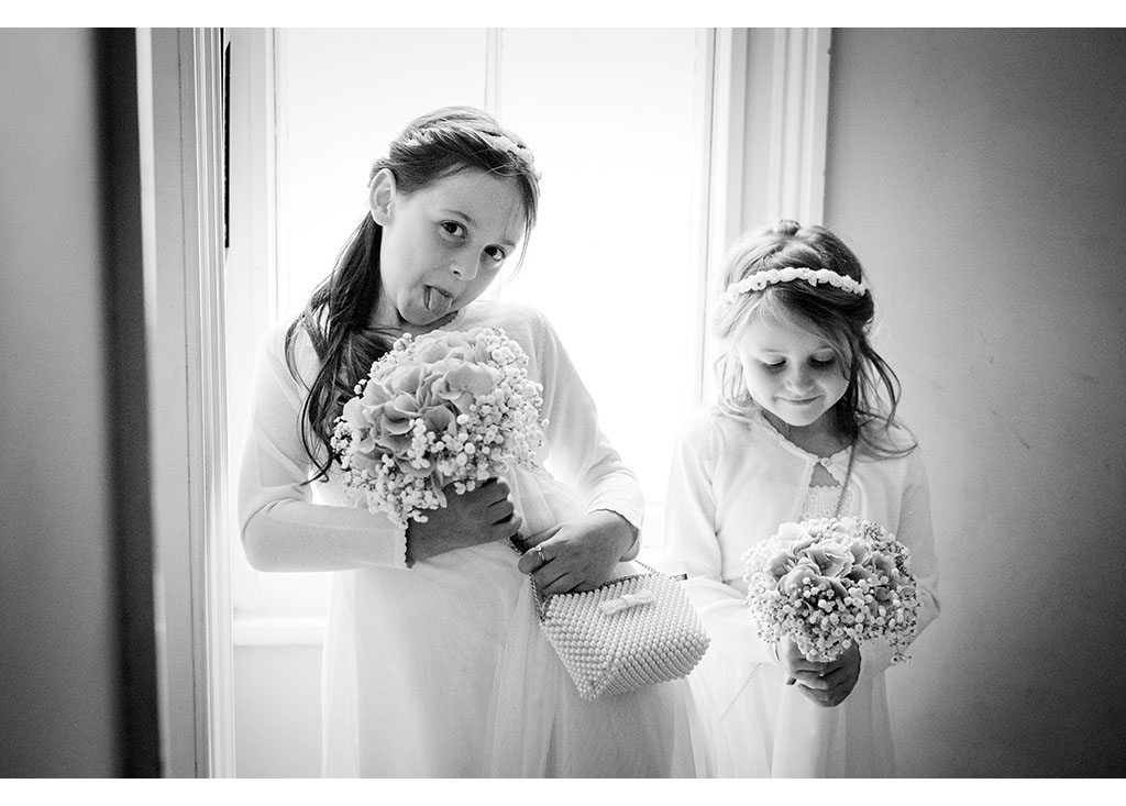 natural flower girl photograph