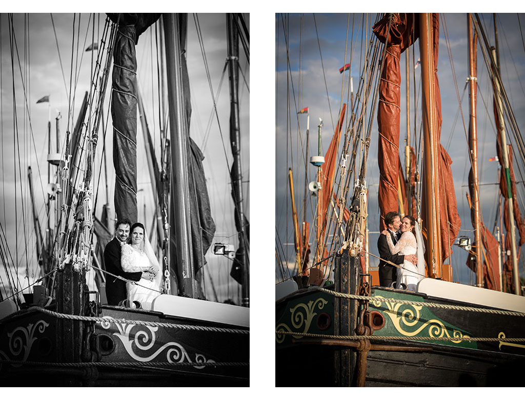 Topsail Charters wedding photography