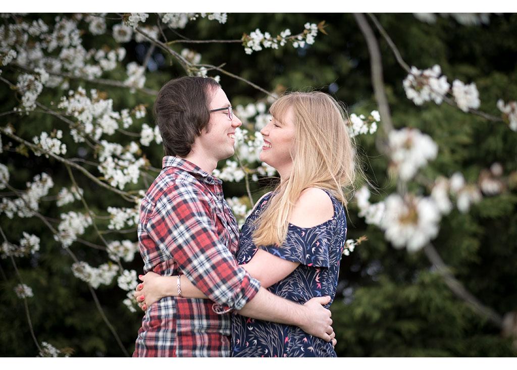 blossom ehgagement shoot