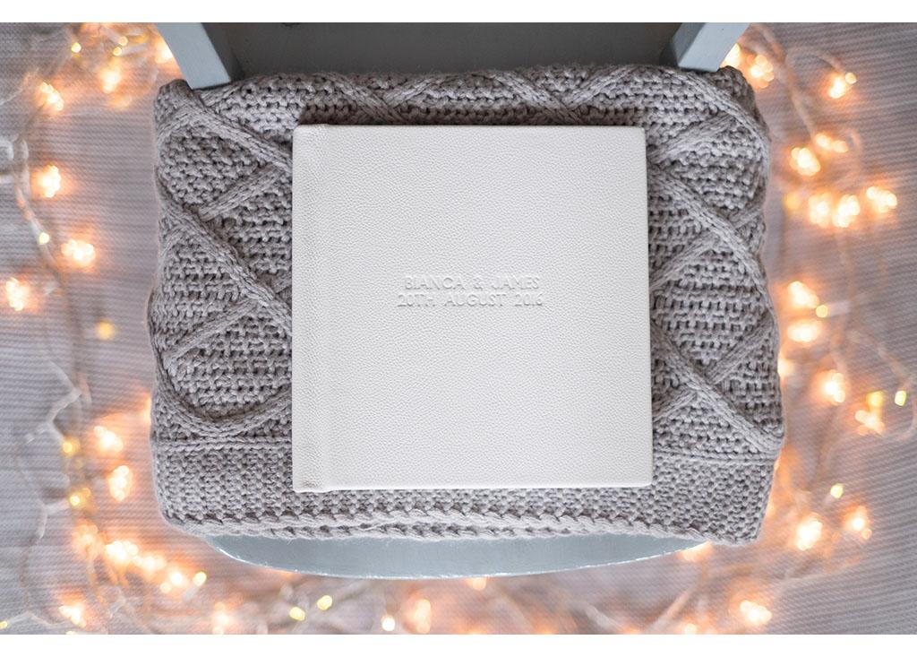 folio album wedding photographer