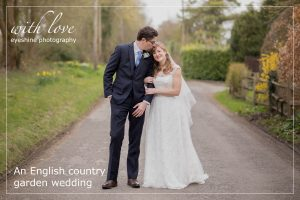 An English country garden wedding