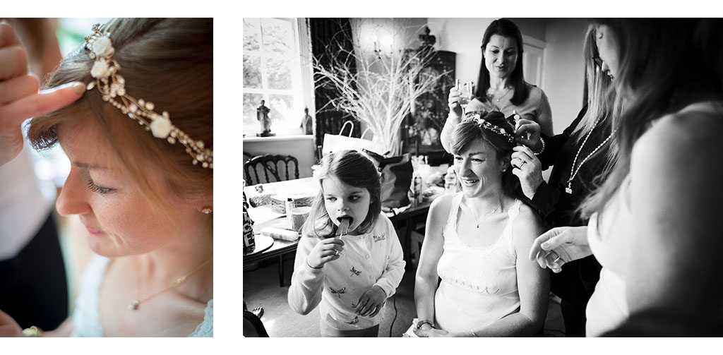 bridal preparation documentary photograph