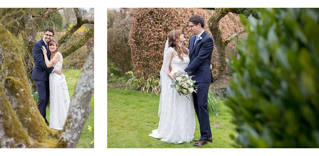 natural english garden wedding photography