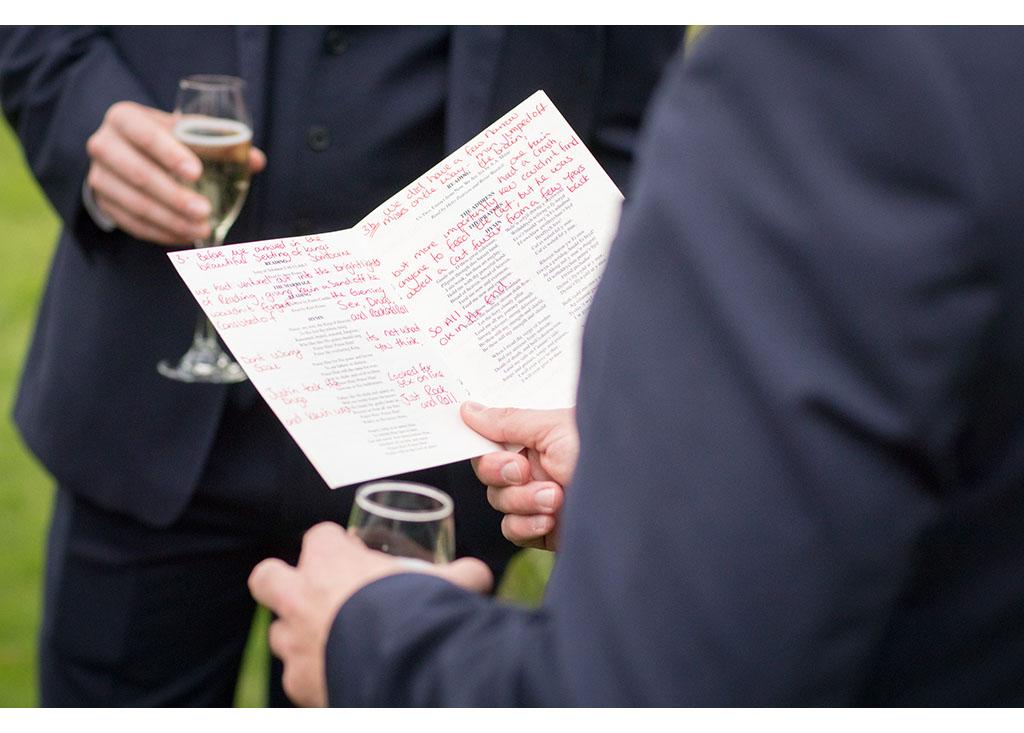 wedding speech preparation