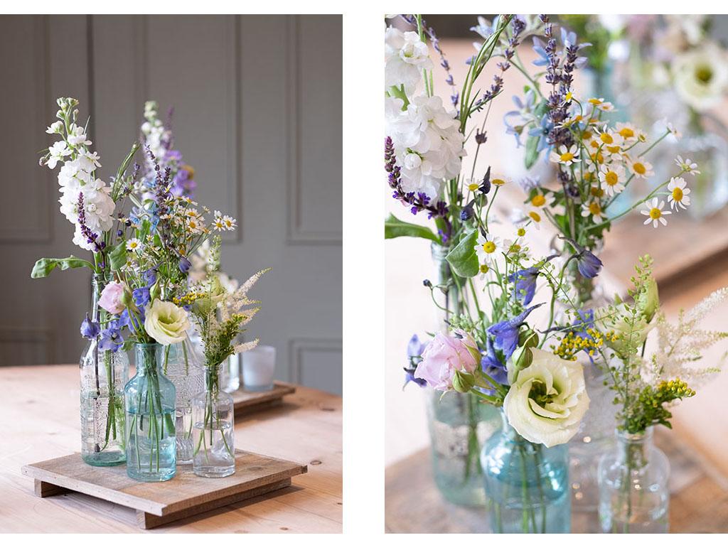 vintage style wedding flowers