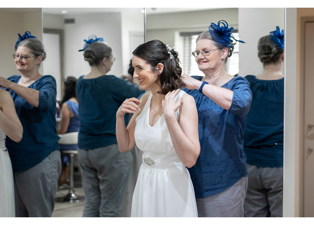 mother of the bride photograph