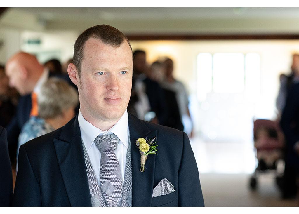 waiting groom photo
