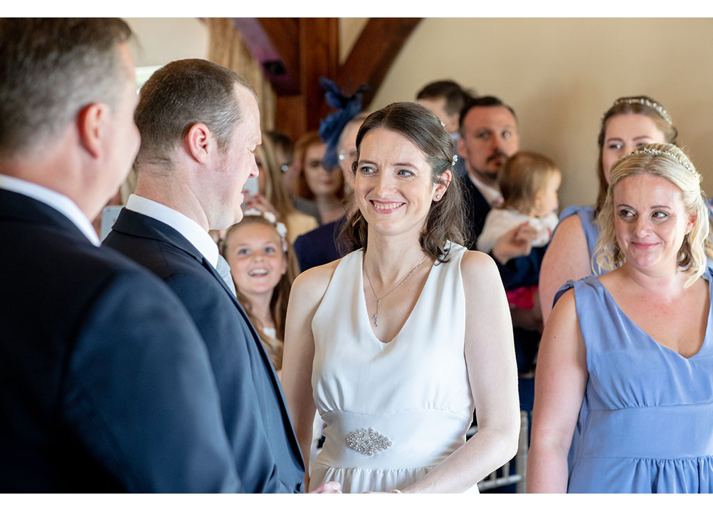 wedding day ceremony compasses