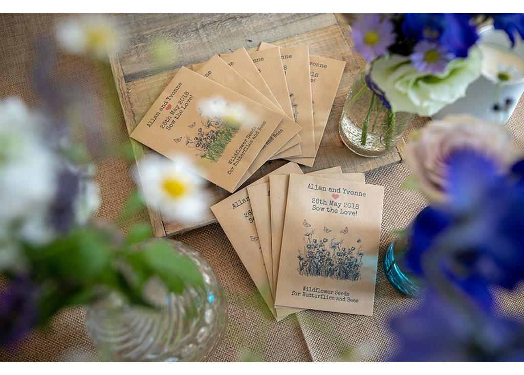wedding day favours