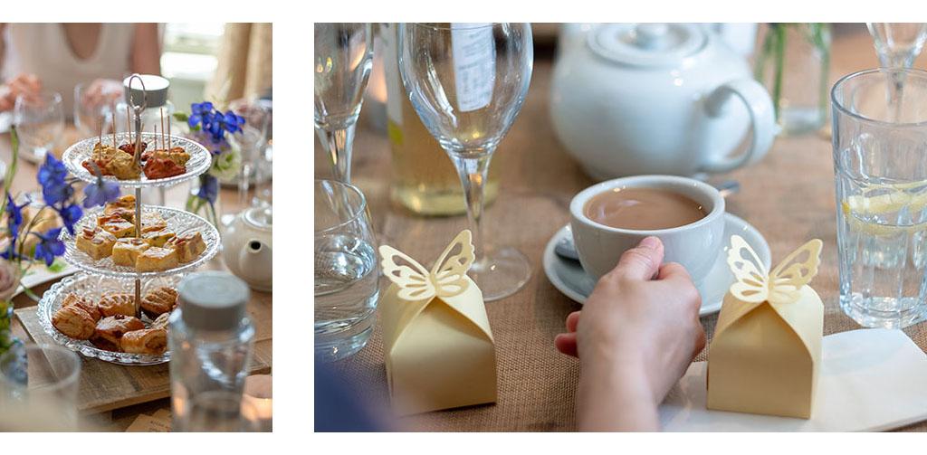 wedding afternoon tea essex