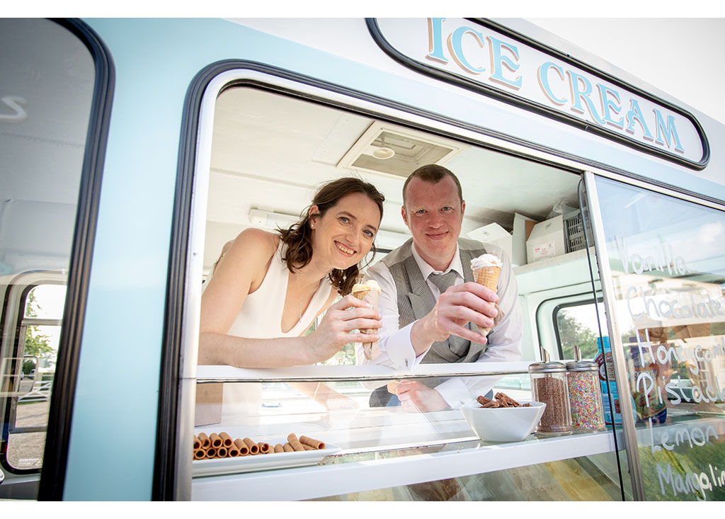 wedding ice cream van