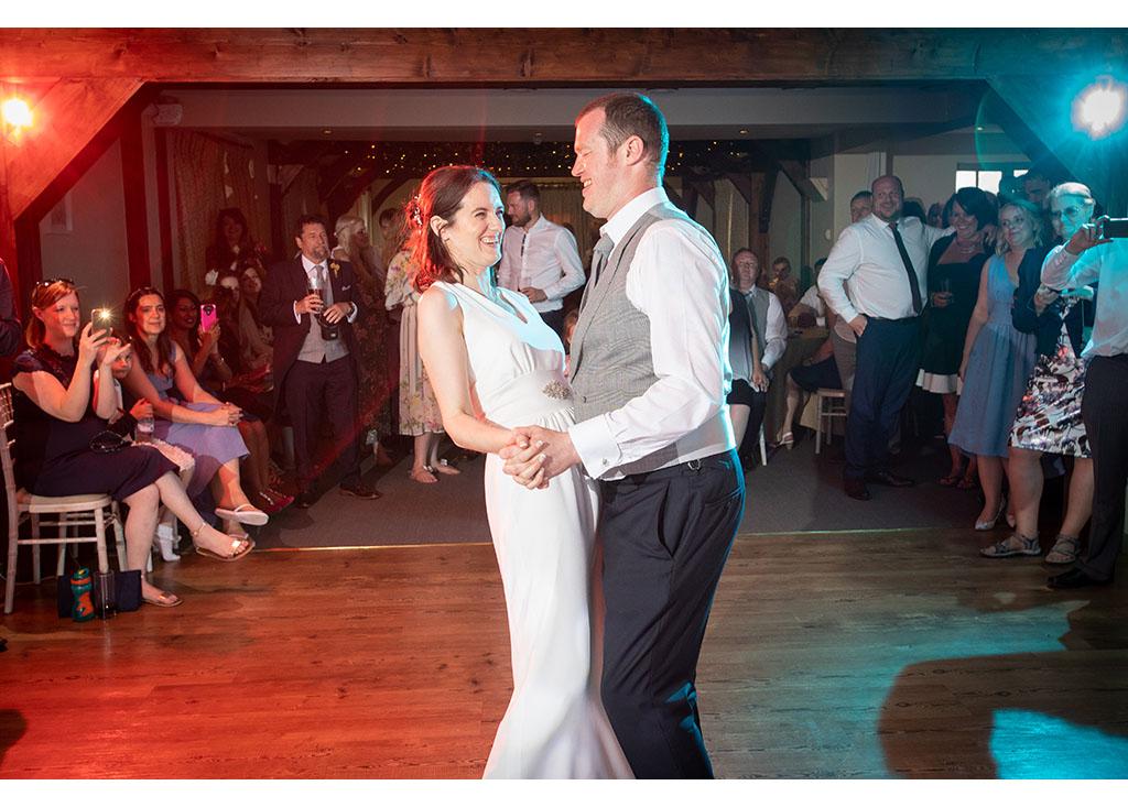 first dance photograph