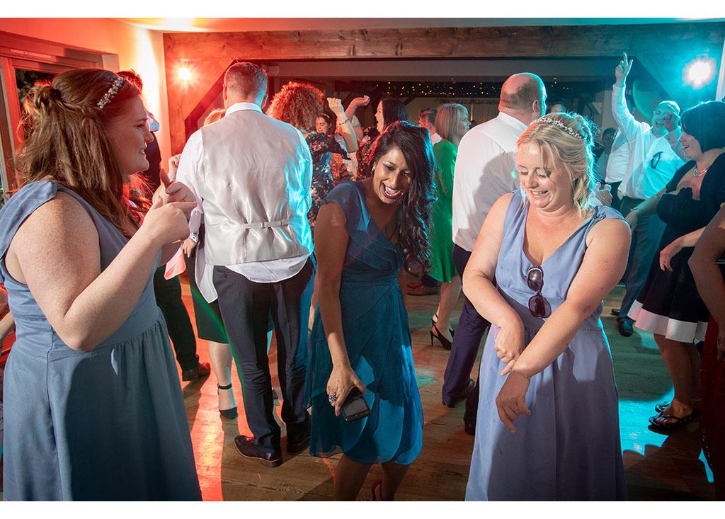 wedding disco photograph