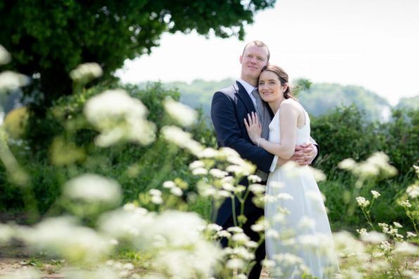Yvonne & Allan's natural relaxed wedding