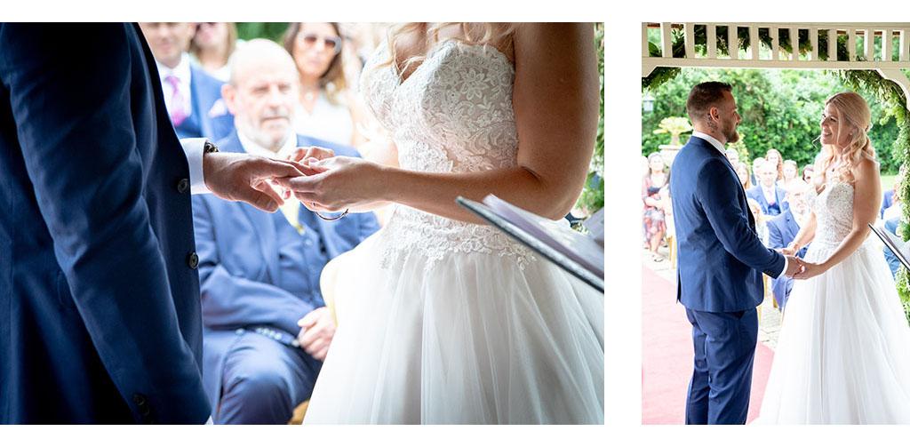 essex venue outdoor wedding ceremony