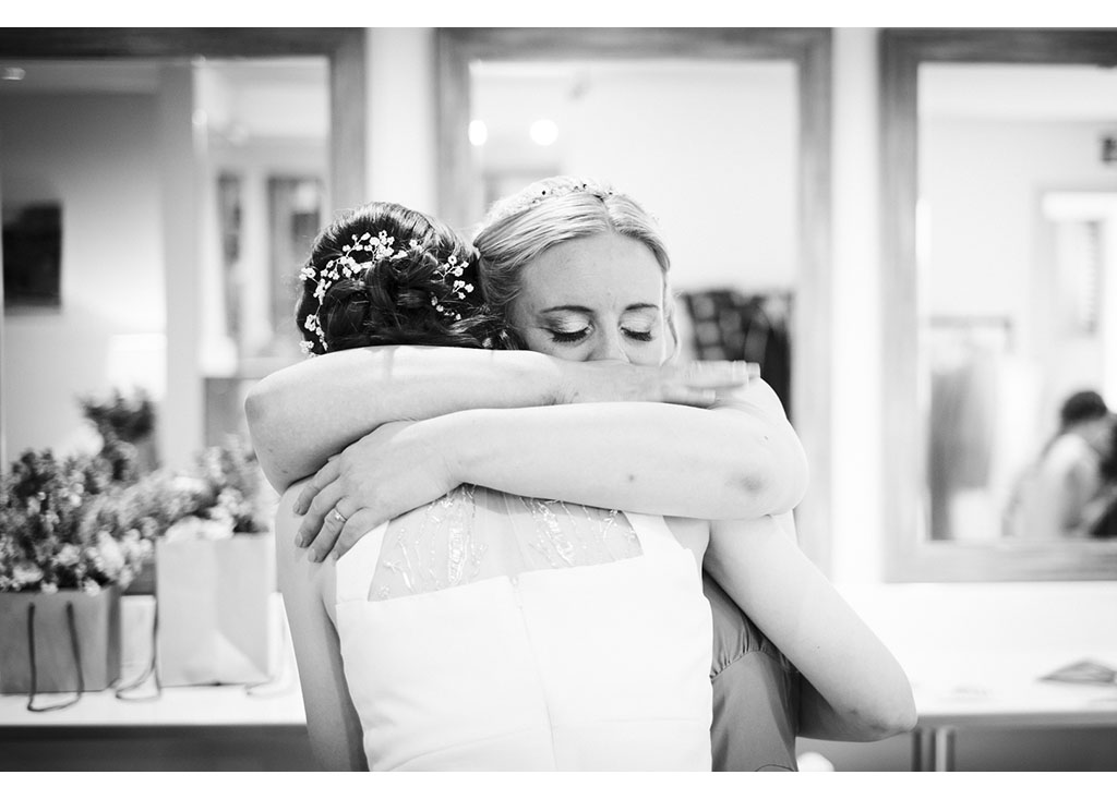 Black and white reportage wedding photography Essex