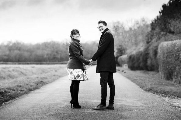 An engagement shoot at The Compasses at Pattiswick