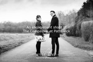 An engagement shoot at The Compasses at Pattiswick