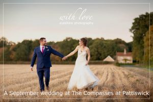 A September wedding at The Compasses at Pattiswick