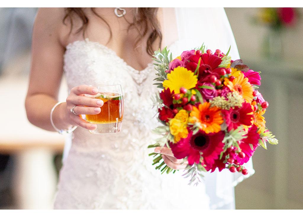 wedding bridal detail
