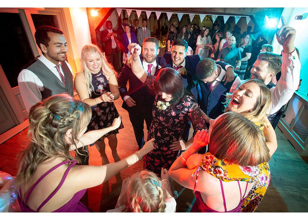 wedding dacne floor photography