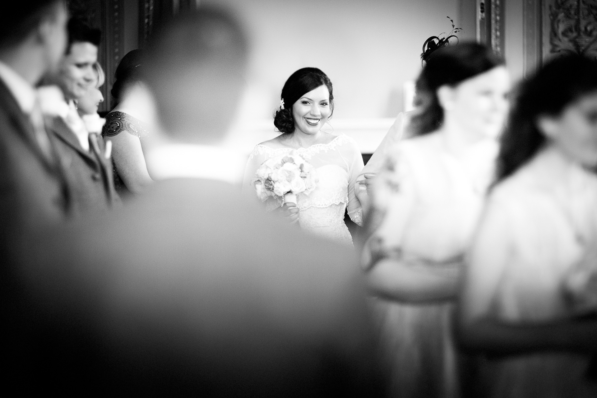 Bride photograph by Essex wedding photographer Eyeshine Photography