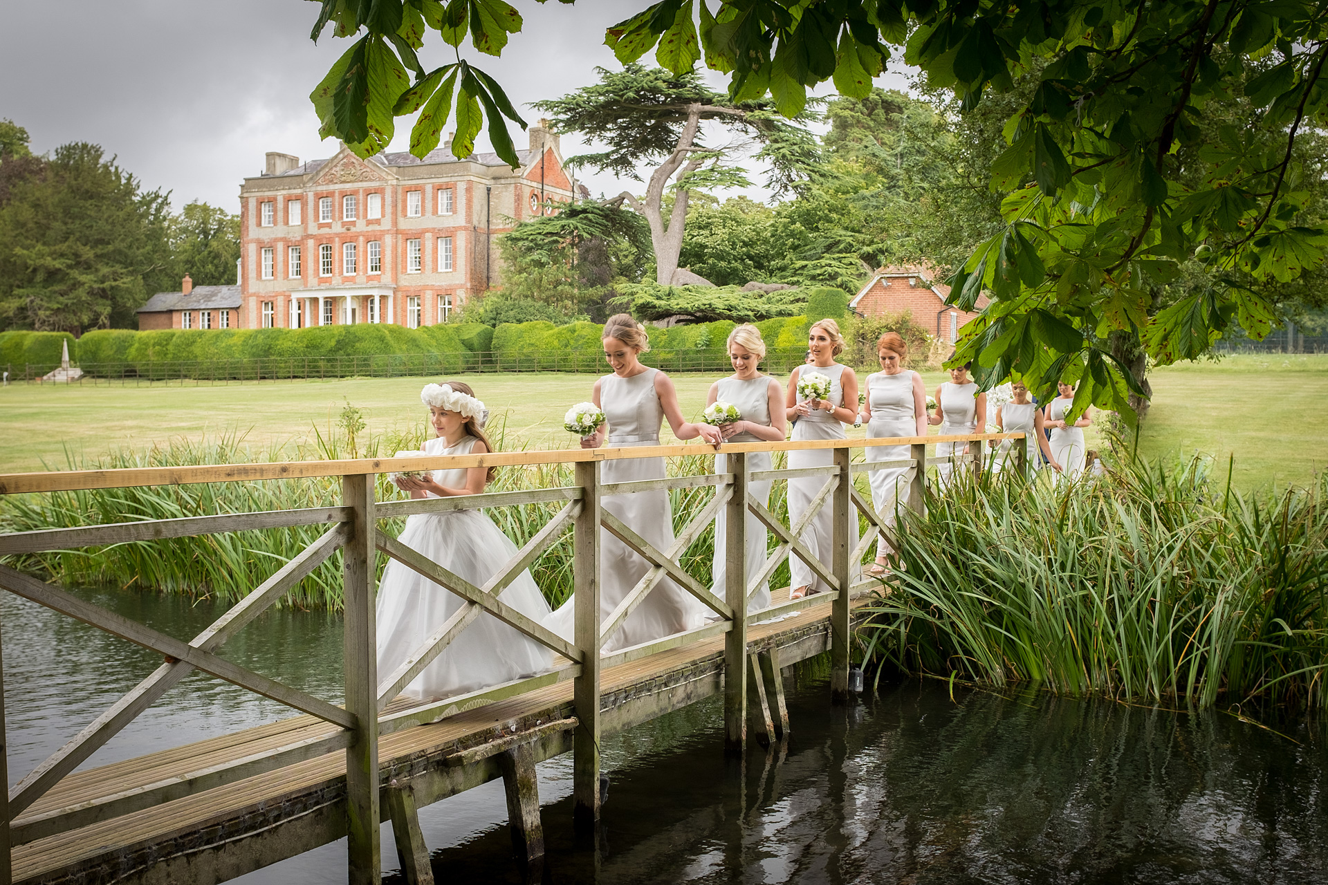 Bridesmaids photograph by Essex wedding photographer Eyeshine Photography