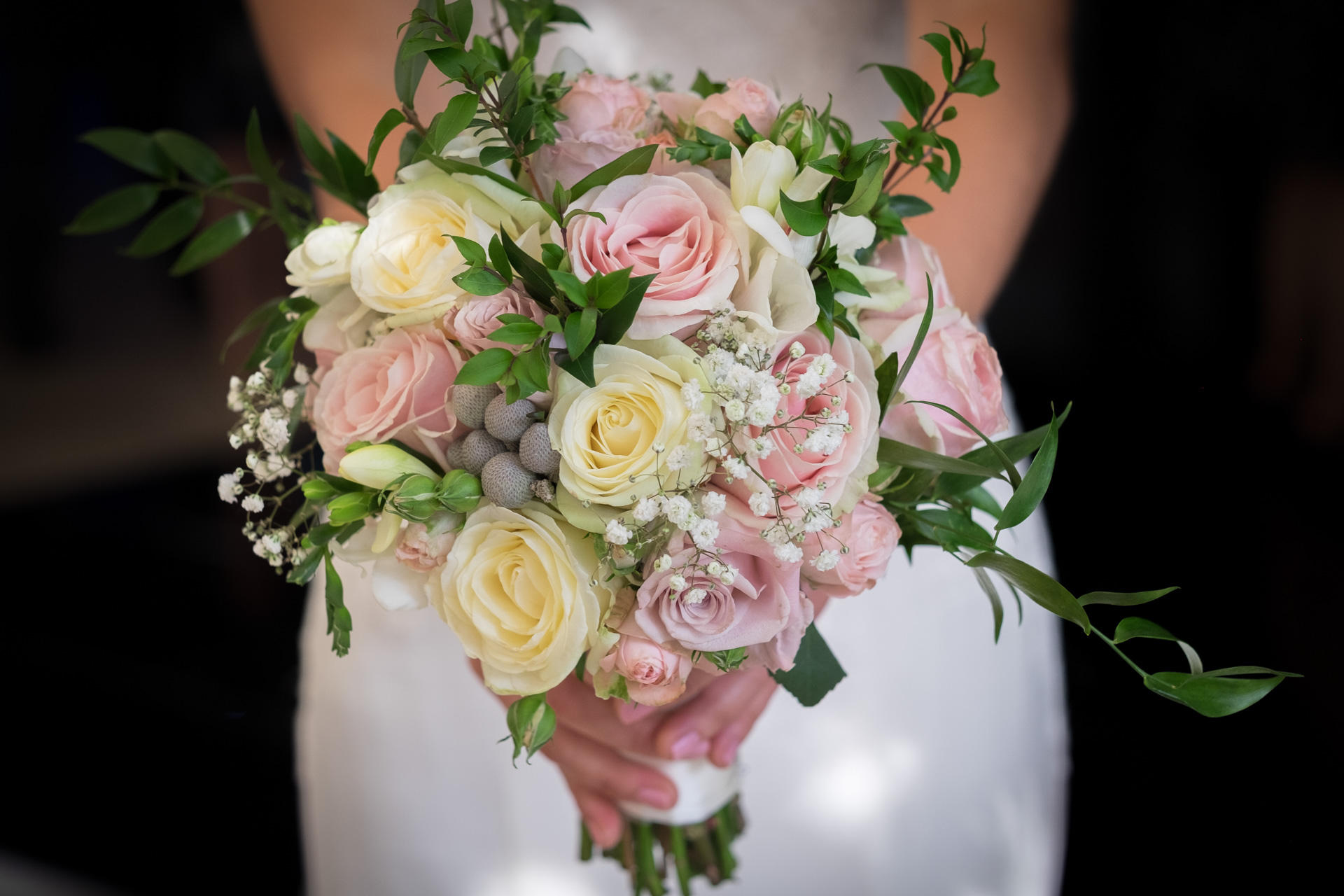 Bridal flower bouquet photograph by Essex wedding photographer Eyeshine Photography