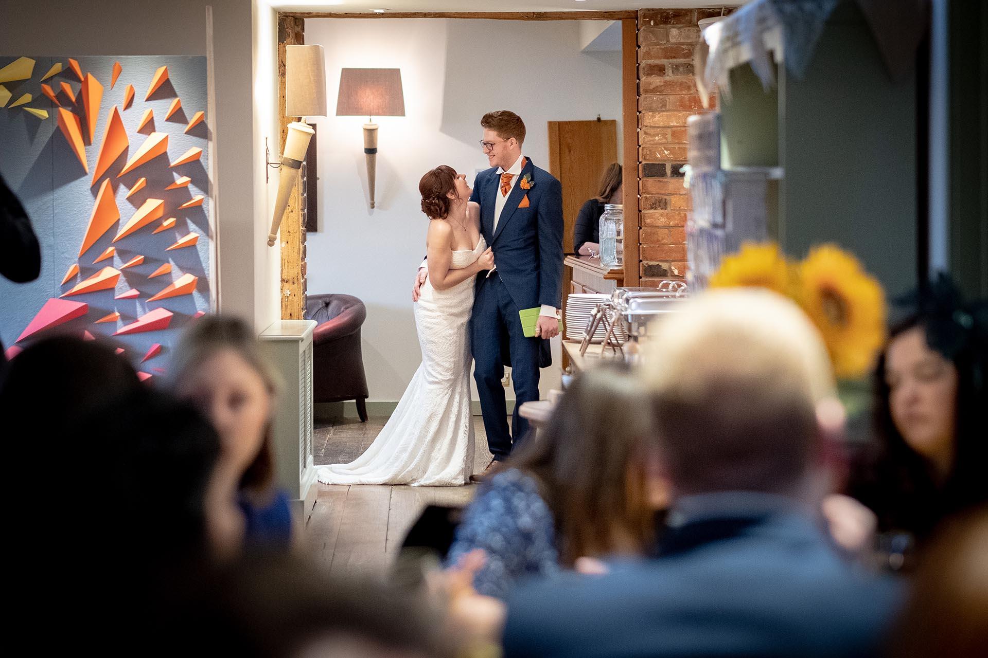 Reportage wedding photography