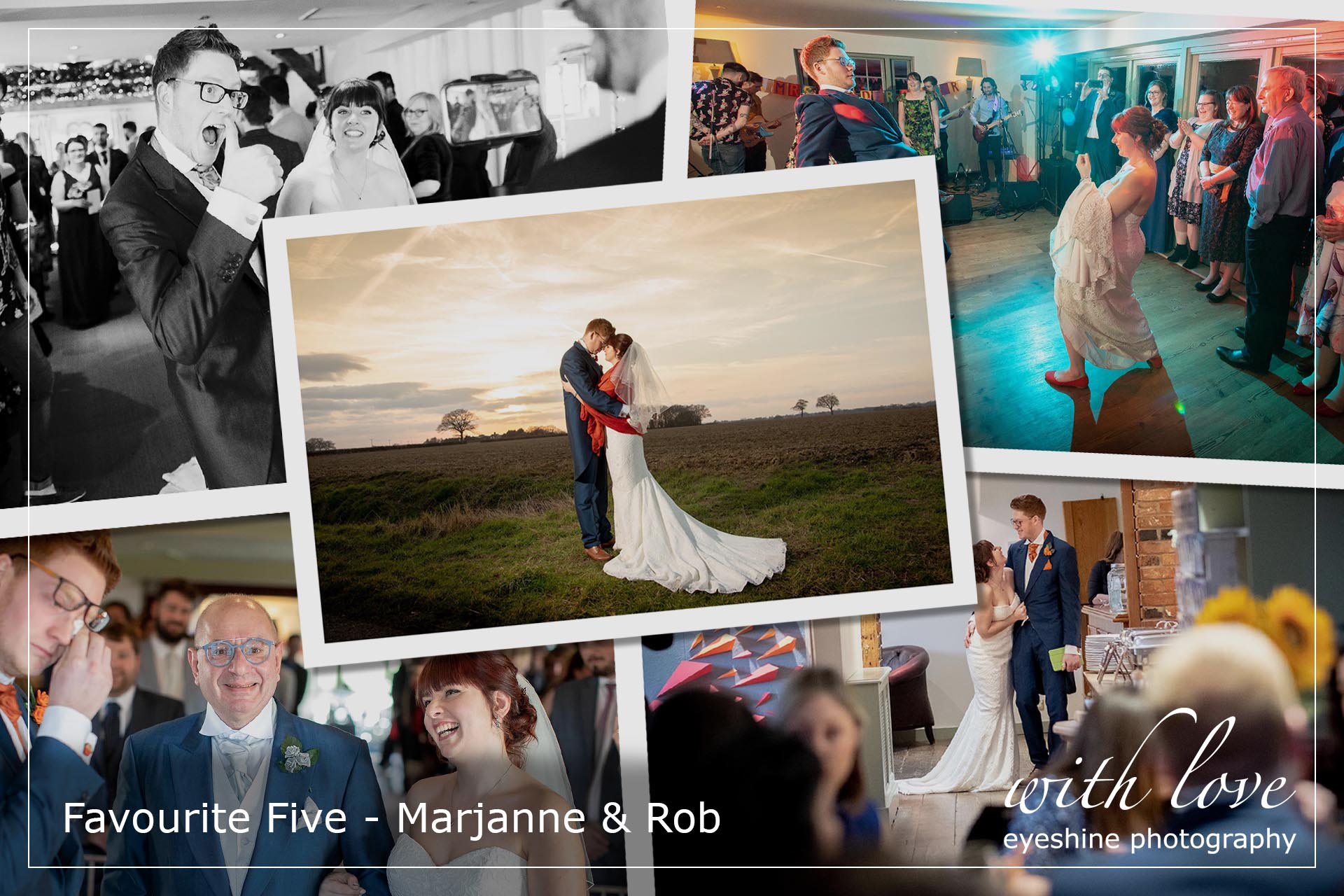 Favourite Five wedding photographs - The Compasses at Pattiswick
