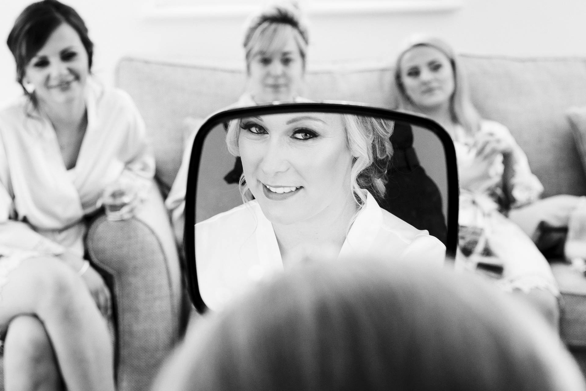 Wedding reportage photography of bridal preparations at Leigh-on-Sea Essex