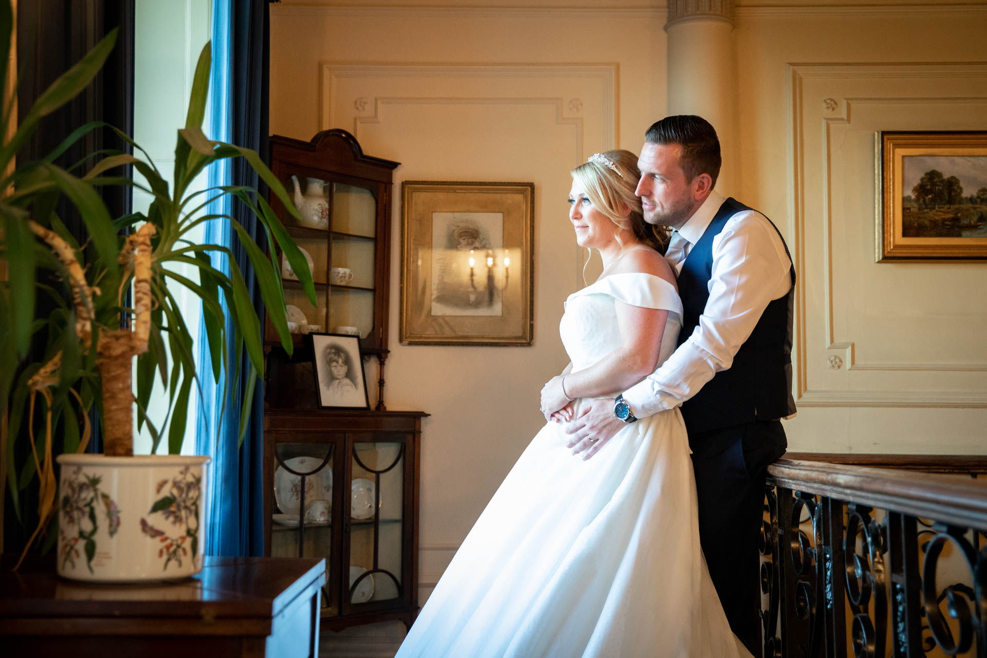 Bride and groom photography at The Lawn Rochford
