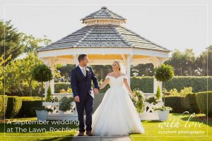 A September wedding at The Lawn, Rochford